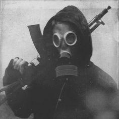 Creepy Vintage Photos - New ideas Bad Boy Aesthetic, Aesthetic Grunge, Aesthetic Art, Aesthetic Pictures, Aesthetic Anime, Gas Mask Art, Masks Art, Gas Masks, Apocalypse Aesthetic