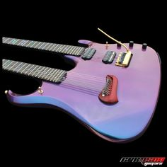 The John Petrucci inspired twin neck guitar 7 & 14 string | Crimson Guitars UK