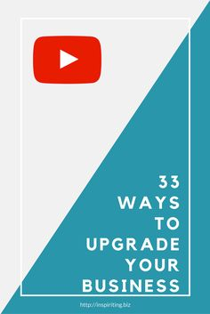 Every century business owner needs to run some upgrades from time to time. Here are 33 ideas from where to start. Creative Business, Business Tips, Online Business, Business Quotes, Website Maintenance, Sales Tips, Business Organization, Business Entrepreneur, How To Stay Motivated