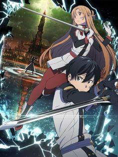 Imagen promocional de la película de Sword Art Online.