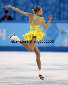 Ice Skating Dress Competition Figure Skating Baton Twirling Costume Dance Size L Numerous In Variety Skating Dresses-girls Ice Skating