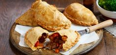 Beef Pasty Recipe - Finally, something you can do with leftover roast beef.