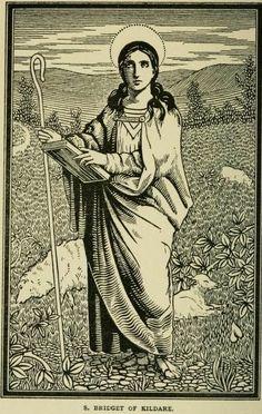 Wild Irish Women: Saint Brigid – Mary of the Gaels Poodle, Jesus In The Temple, St Bridget, Irish Mythology, Celtic Goddess, Catholic Saints, Women In History, Our Lady, Just In Case