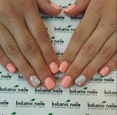 Super cute summer nails. …