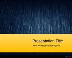 Blue Texture PowerPoint Template is a free yellow and blue texture PowerPoint template with space for the presentation title