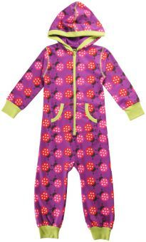 Maxomorra Jumpsuit One Piece Ladybugs