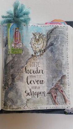 Dag 16 – 40 dagen   Bettuelle.nl Scripture Doodle, Bible Verse Art, Faith Bible, Scripture Study, Bibel Journal, Bible Drawing, Bible Study Journal, Illustrated Faith, Journaling