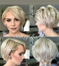 Fashion Styles for Women Styles Raise your hands if you love Pixie 360 photos like this one by Short Sassy Haircuts, Edgy Haircuts, Short Haircut Styles, Haircut For Thick Hair, Cute Hairstyles For Short Hair, Edgy Short Hair Styles, Bob Hairstyles, Pixie Haircut, Short Hair Cuts For Round Faces