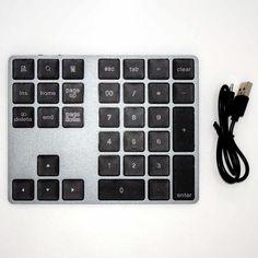 Kabellose numerische Zahlentastatur mit vielen Sondertasten Mac Os, Usb, Computer Keyboard, Mini, Keyboard, Cords, Switzerland, Computer Keypad