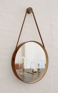 Round mirror. I wonder how hard it is to make your own????