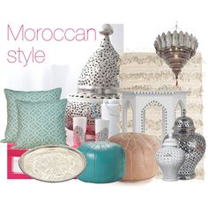Moroccan style. Mixing modern and traditional decor