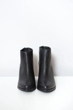 Sol Sana Black Leo Leather Boot – Parc