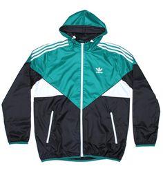 Adidas Originals Colorado Windbreaker Jacket Sub Green / Black from Adidas Originals, on 5 Pointz