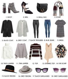 Winter City Break Packing Essentials
