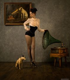 pin up girl Pin Up Vintage, Mode Vintage, Vintage Woman, Vintage Glam, Vintage Style, Film Noir Fotografie, His Masters Voice, Art Photography, Fashion Photography