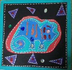 3rd grade art by A.R.A.