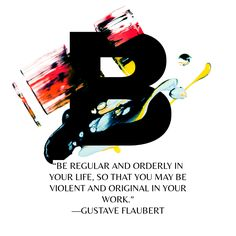 Note with content: Gustave Flaubert, 1876