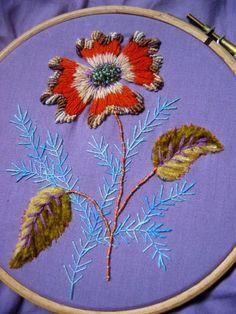 69859918 - Photo de fleur d'automne - Je Brode on Line Facile!!