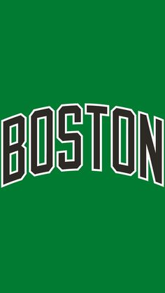 Boston Celtics Jersey Logo on Chris Creamer's Sports Logos Page - SportsLogos. A virtual museum of sports logos, uniforms and historical items. Boston Celtics Wallpaper, Lakers Wallpaper, Boston Celtics Logo, New Boston, Boston Red Sox, Jordan Background, Nba Rosters, Celtics Basketball, Nba Wallpapers