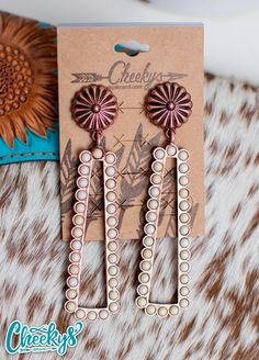 Western Jewelry, Us Images, Statement Earrings, Buffalo, Copper, Social Media, Boutique, Elegant, Amp