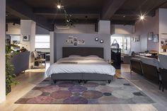 Rolf Benz Freistil 130 bed, bedroom