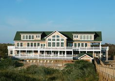 The Mark Twain Pet Friendly Oceanfront Rental house in Corolla 4x4 Area
