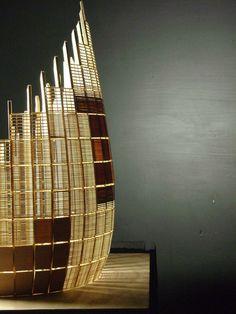 renzo piano, study model