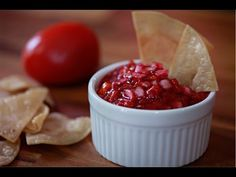 Your Produce Guy shows you how to make a delicious salsa with tamarillos (also known as tree tomatoes). Salsa Recipe, Fruit, Eat, Desserts, Recipes, Food, Dinner Ideas, Videos, Youtube