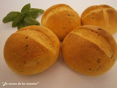La Cocina de los inventos: Pan de Tomate y Albahaca