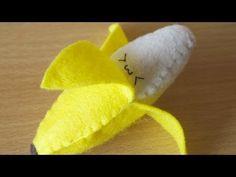 How to Make a Kawaii Banana Plushie
