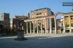 In the heart of San Lorenzo Basil in Milan, Italy #myhomeinMilan