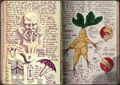 Hand-Drawn Creatures Inside Guillermo Del Toro's Sketchbook
