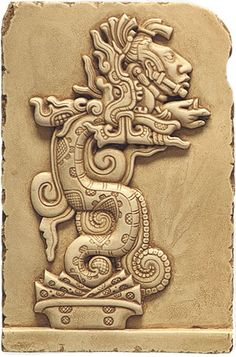 Image detail for -Talaria Enterprises Precolumbian Wall Hangings Maya Vision Serpent ...