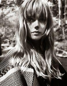 Porter #4 Fall 2014 '70s Folk Goddess Frida Gustavsson by Cedric Buchet Styled by Laura Ferrera
