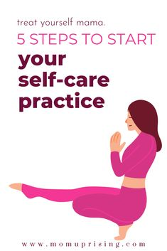 5 Steps to a Self-Care Plan for Busy Moms Positive Attitude, Positive Thoughts, Caring For Mums, Overwhelmed Mom, Stress Less, Care Plans, Self Care Routine, Mothers Love, Best Self