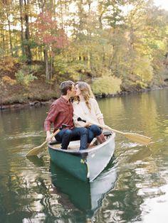 boat engagement picture | photo: austingrosblog.com
