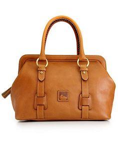 Dooney & Bourke Handbag, Florentine Framed Mitchell Satchel - Dooney & Bourke - Handbags & Accessories - Macy's