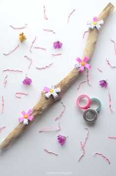 Tutorial: decorare un legno del mare con i washi tape