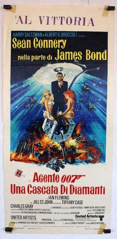 """7. """"Agente 007 - Una cascata di diamanti"""" (""""Diamonds Are Forever"""") - 1971 - con Sean Connery, di Guy Hamilton"""