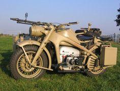 WW2 Zundapp KS 750 with sidecar