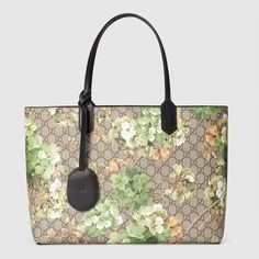 4e847386a5167 Gucci Women - Reversible GG Blooms leather tote - 368568CU71X8966 Modern  Luxury, Bloom, Ready