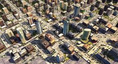 Sberbank City by Maxim Goudin, via Behance