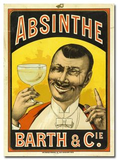 """""""Absinthe! The only proper drink for the square-monocled gentleman.""""    Read more: The 5 Most Ridiculous Drinking Myths You Probably Believe 