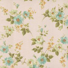 Vintage Wall Paper.  Looks like the wallpaper in my childhood bedroom.