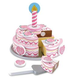 Melissa-&-doug Melissa & Doug Triple-layer Party Cake | Buy Online in South Africa | TAKEALOT.com