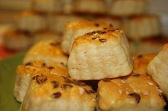 Fotorecept: Syrokrémové pagáčiky Baked Potato, Mashed Potatoes, Sushi, Bread, Cheese, Baking, Breakfast, Cake, Ethnic Recipes