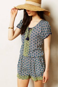 Long Weekend Romper - anthropologie.com