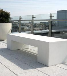 Urbis Design | Contemporary Concrete Planters and Furniture