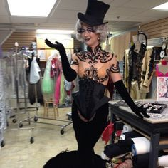 Molinier costume for Zumanity (not my picture, nor my design, but I've worked on this costume before). Looking forward to seeing this show someday! Cool Costumes, Costumes For Women, Dance Costumes, Costume Ideas, Vegas Showgirl, Rocky Horror Show, Burlesque Show, Future Photos, Thierry Mugler