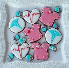 Nurse Appreciation cookies by Mama Mia's Sweet Treats
